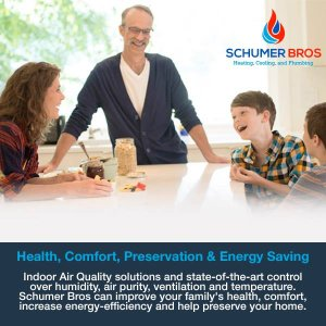 health, comfort, preservation and energy saving